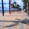 El paseo sin circulacion ni pinturas ni terrazas ni...
