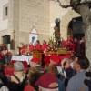 Misa en la plaza de la Ermita
