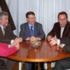 El ministro Sevilla y el Subdelegado Calles