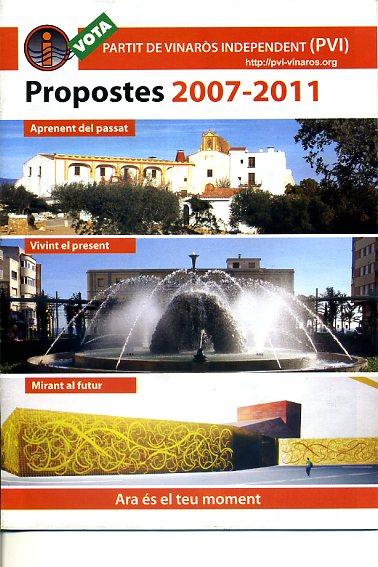 Propostes 2007-2011