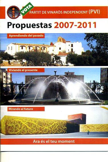 Propuestas 2007-2011
