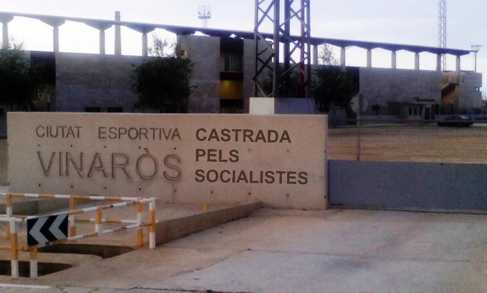 CIUDAD DEPORTIVA CASTRADA PELS SOCIALISTES peq