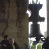 Colocación de las campanas