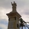 Restauración del monumento a Costa y Borrás