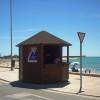 Caseta de punto de información turística