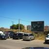 En el letrero se leía terrenos puestos a disposición de Consellería para la construccion del 2do ambulatorio