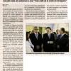 Noticia en la prensa Andorrana al día siguiente a la presentación