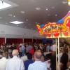 Parte moderna del mercado el día de su inauguración